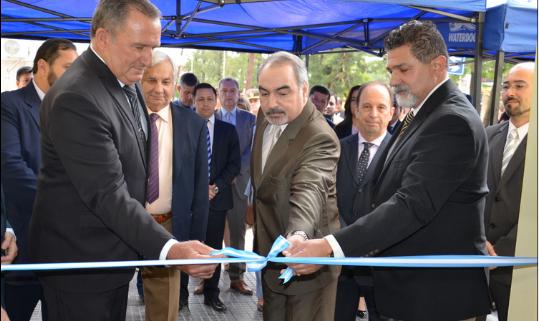 Inauguración Juzgado de Paz Pirané