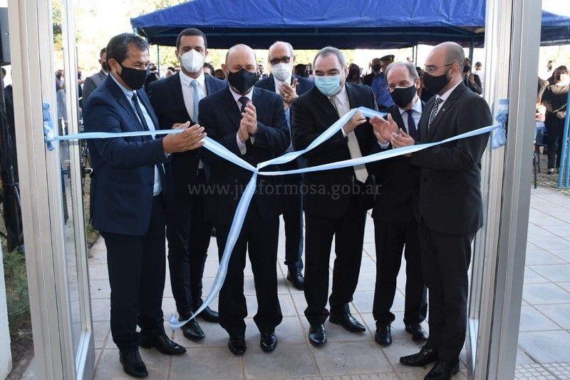 Inauguración Edificio Las Lomitas