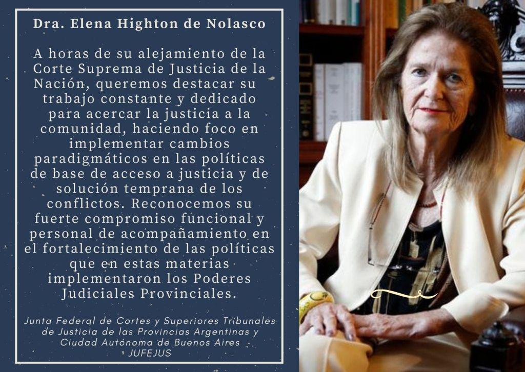 Dra. Helena Highton de Nolasco