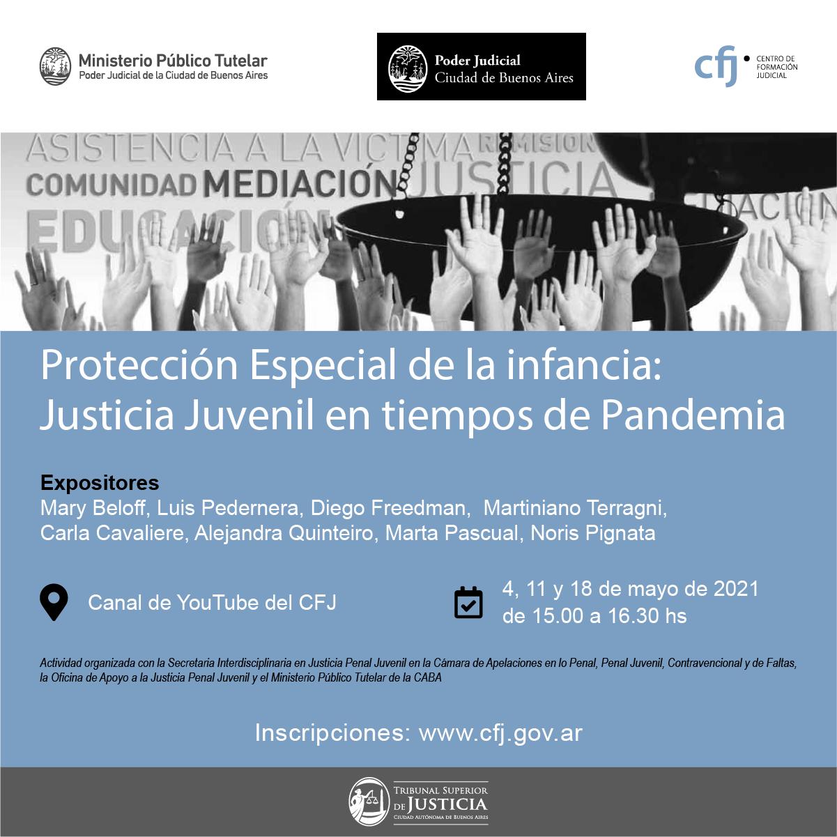 Justicia Juvenil en Tiempos de Pandemia